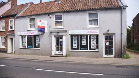 Matthew Green's premises in Swaffham that was rented to eHomes. Picture: Ian Burt