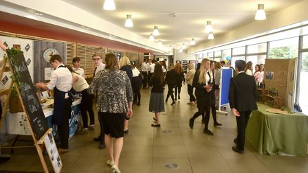 Young Enterprise Trade Fair at the UEA.Picture: ANTONY KELLY