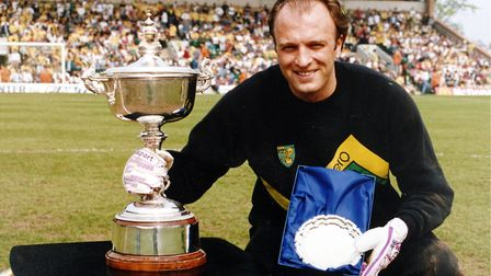 Bryan Gunn was Norwich City's player of the season back in 1987-88. Picture: Archant Library