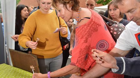 Battle of the Bangers competition at the Norwich Food and Drink Festival.Picture: Nick Butcher