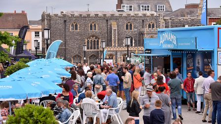 Norwich Food and Drink Festival. Picture: Nick Butcher