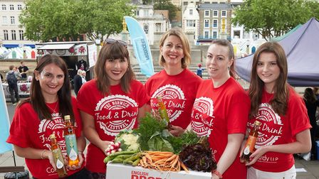 The Norwich Food and Drink Festival. Picture: Kieron Tovell.