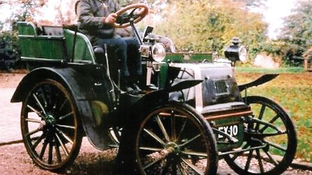 EX10 - the Daimler once owned by Yarmouth garage proprietor and businessman Frank Bately took part i