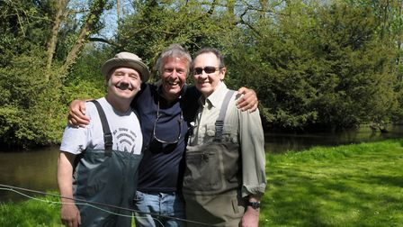 Filming with Bob Mortimer and Paul Whitehouse was nothing if not hilarious Picture: John Bailey