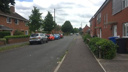 Friends Road in Norwich. Picture: Archant