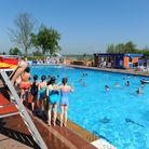 File photot of Beccles Lido on a very warm and sunny day. Picture: James Bass