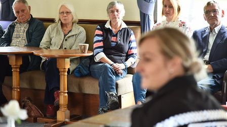 A meeting is held in East Harling by Breckland Police and the parish council to arrange a community