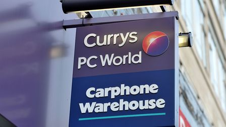 Retailer Dixons Carphone has reported a fall in annual profits and a slight drop in UK sales. Pictur