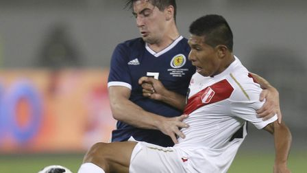 Norwich City midfielder Kenny McLean has been on tour with Scotland in South America over recent day