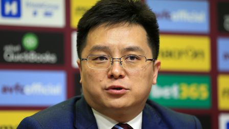 Aston Villa chairman Dr Tony Xia appears to have quite a lot on his plate this summer. Picture: PA