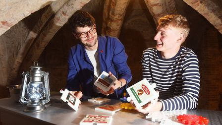 The Museum of Norwich at the Bridewell is turning its undercroft into an escape room game.Ben Leach