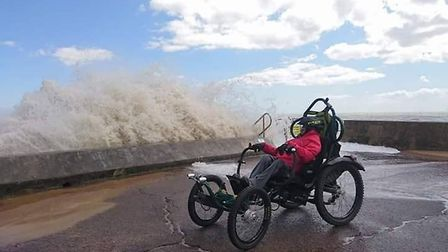 Martin Symons is well-known for his work supporting the disabled community of Norfolk Picture: Marti