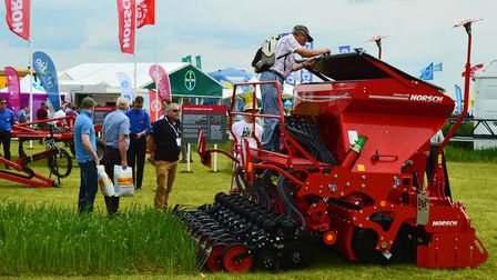 The Cereals 2018 event at Chrishall Grange, Cambridgeshire. Picture: Chris Hill