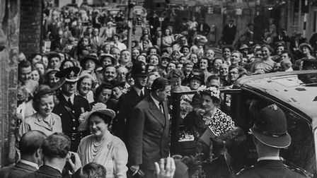 The Queen Mother at Guildhall of St George from July 1951. Picture: Walsingham Shrine Archives / Cla