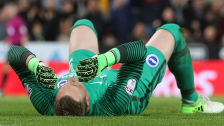 David Stockdale scored two own goals against Norwich City in the same half Picture: Paul Chesterton/