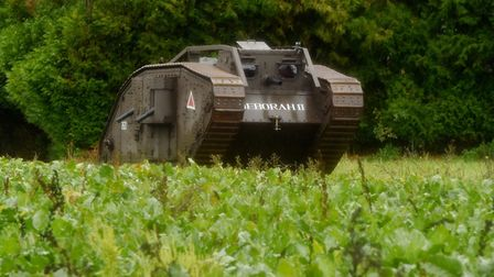 Deborah the Tank. Picture: Contributed