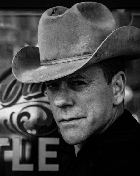 Kiefer Sutherland is playing the UEA in Norwich. Photo: Beth Elliott