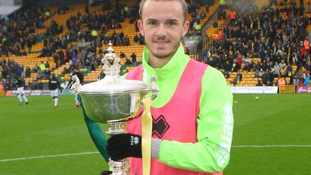 James Maddison was a fitting winner of the Barry Butler Memorial Trophy Picture: Paul Chesterton/Foc