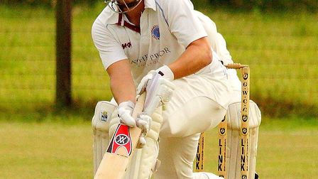 Peter Lambert hit his 10,000th run for Swardeston as he scored 88 in a losing cause at Great Witchin