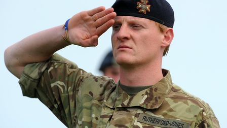 Norfolk Salutes their Armed Forces in the Grand Ring at the Royal Norfolk Show. Photograph Simon Par