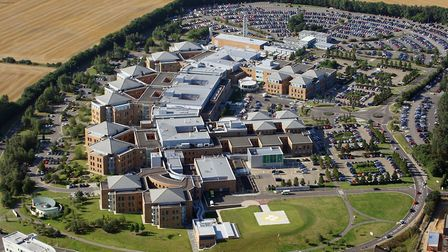 Norfolk and Norwich University Hospital. Picture: MIKE PAGE