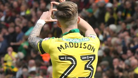 James Maddison has joined Leicester City. Picture by Paul Chesterton/Focus Images