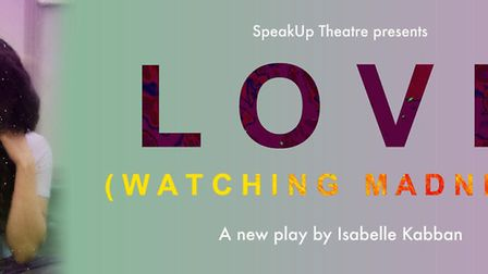 SpeakUp theatre company is presenting LOVE (Watching Madness) at The Garage in Norwich.Photo: suppli