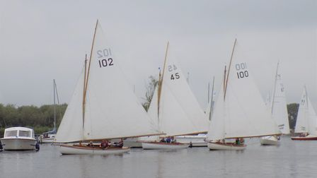 Action from the Three Rivers race at the weekend. Pictures: Holly Hancock and Paul Williams
