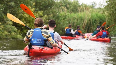 Kayak was one of the most popular words Norfolk children used in their stories. Picture: Nick Butche