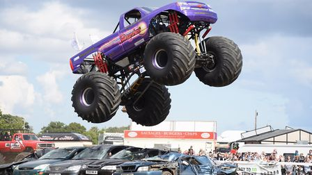 Monster-truck was the most popular word Suffolk children used in their stories. Picture: DENISE BRAD