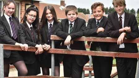 Students at Old Buckenham High School talk about their classmate Jack Goodacre who got to the finals