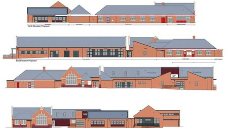 The plans for the expansion of Roydon Primary School. Picture: Morgan Sindall