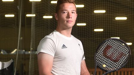 Alfie Hewett's French Open campaign did not go to plan. Picture: ANTONY KELLY