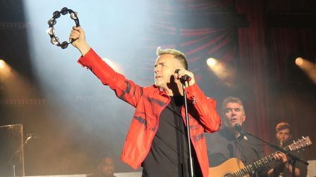 Gary Barlow performing live at Forest Live in Thetford. Picture: EMMA KNIGHTS