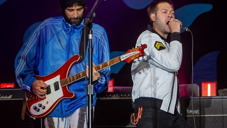 Kasabian headlining Thetford Forest on the final night of the Forestry Commission's Forest Live conc