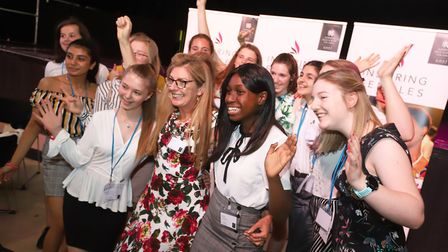 The Inspiring Females Collective. Picture: Norwich High School for Girls