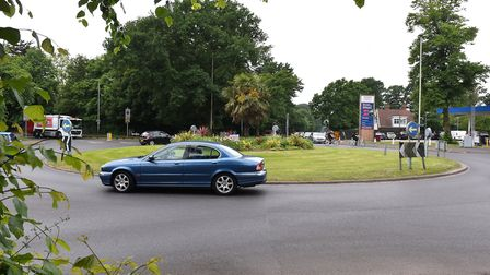 City Councillors are looking to spend £750K on safety improvements to the Fiveways roundabout in No