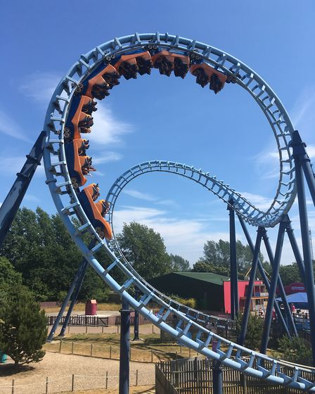I think it might be a while before Thalia considers this ride. Picture: contributed
