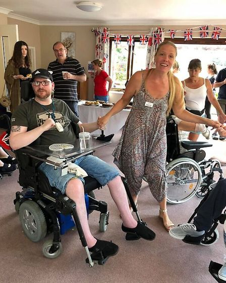 Residents and visitors enjoyed a range of activities at Swaffham nursing home Meadow House. Picture: