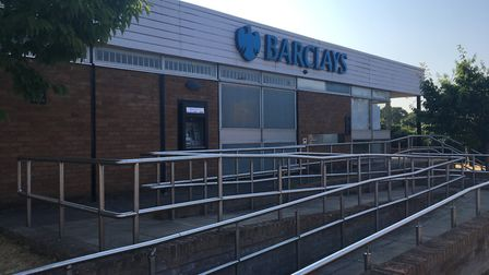 The Barclays Bank branch in Eaton is to close. Pic: Archant.