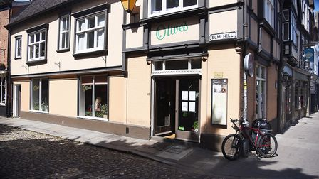 Olive's Cafe in Norwich has launched a sister business, Plants at Olives. Picture: Ian Burt