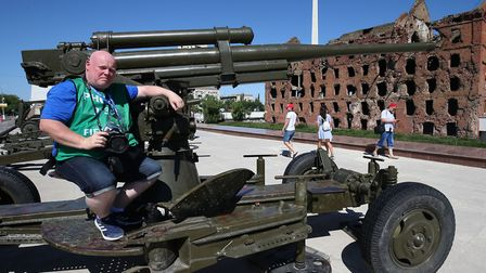 Archant's Norwich City photographer Paul Chesterton takes in the sights in Volgograd ahead of Englan