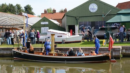 The Museum of the Broads in Stalham. It received funding from Love the Broads to purchase a new visi
