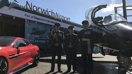 Norwich Airport is holding a weekend of celebrations to mark the airport's long association with the