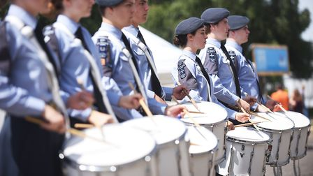 A special weekend of celebrations were held at Norwich Airport to mark the 100 years of the RAF. Pla