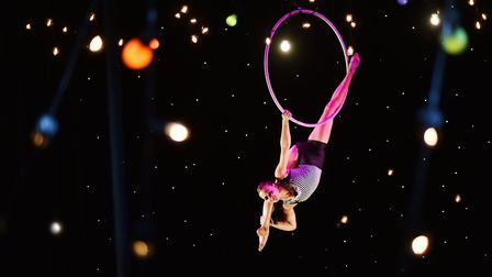 My First Circus: The Circus Child at The Garage in Norwich. Picture: ANTONY KELLY