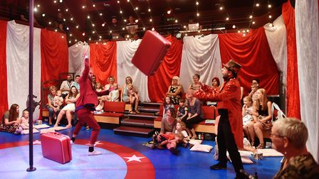 My First Circus: The Circus Child at The Garage in Norwich.Picture: ANTONY KELLY