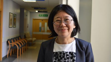 Dr Khin Swe Myint, from the Else Bertram Diabetes Centre at the Norfolk and Norwich University Hospi