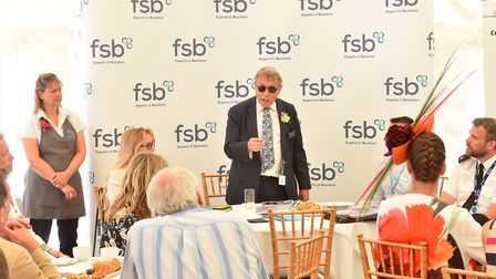 Lorne Green at the launch of the Business Crime Strategy at the Royal Norfolk Show 2018. Picture: Ni