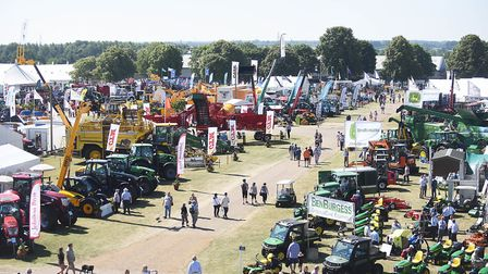 Day one of the Royal Norfolk Show. Picture: Ian Burt